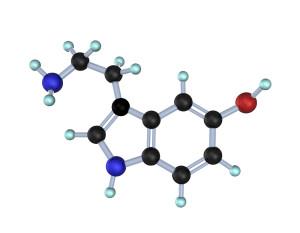 Molecule Serotonin